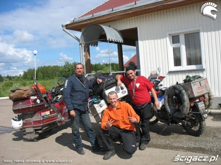 Podroz motocyklem Syberia spotkanie