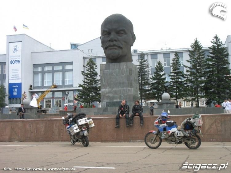 Ulan Ude glowa Lenina