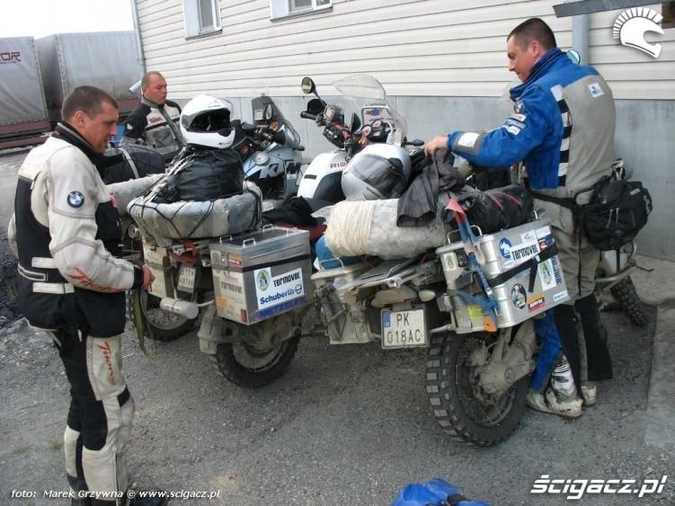 wyprawa motocyklowa Syberia Slowacy