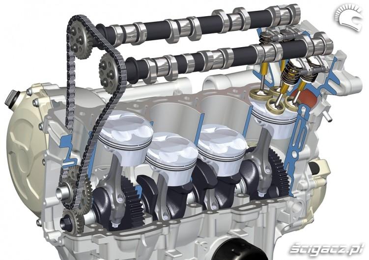 BMW S1000RR 2009 silnik