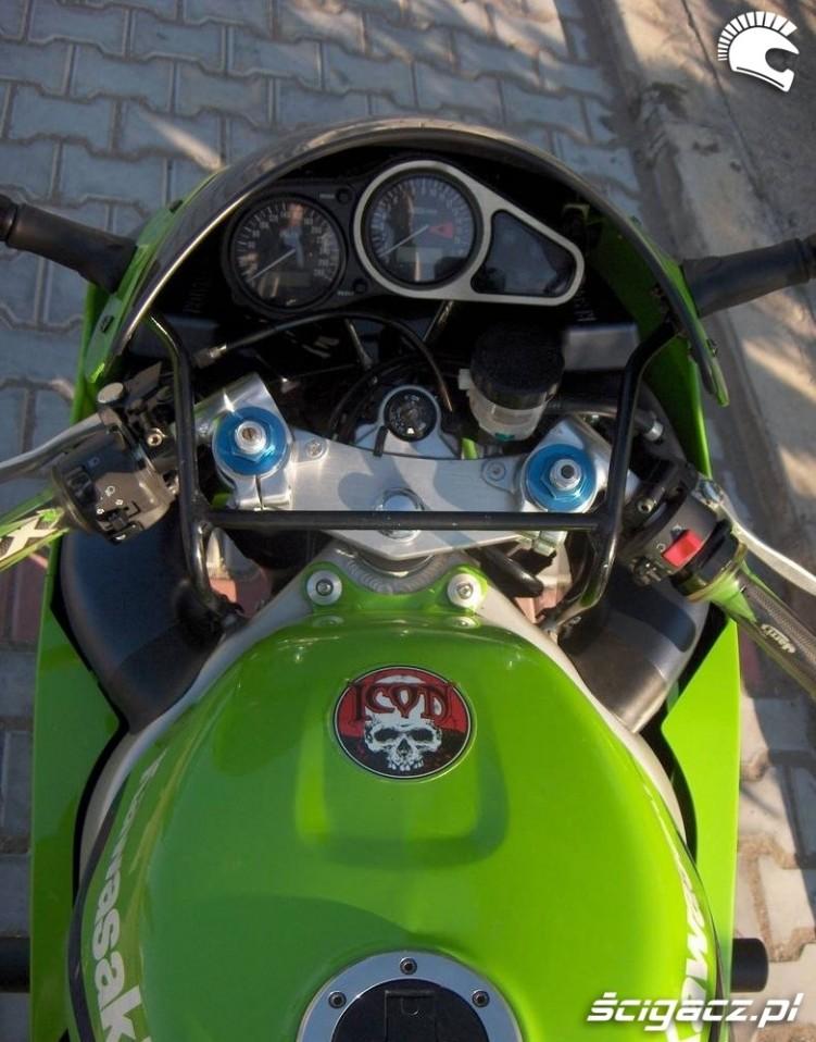 Kawasaki ZX6R zegary1999