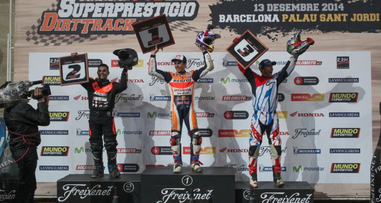 Superprestigio podium