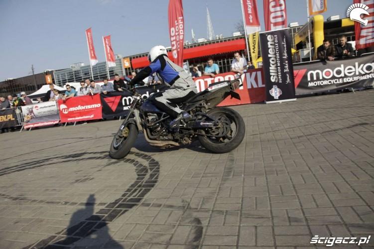 Motor Show Poznan 2014 pokazy stuntu