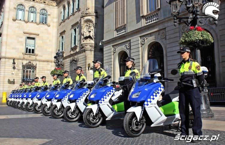 elektryczne bmw dla policji