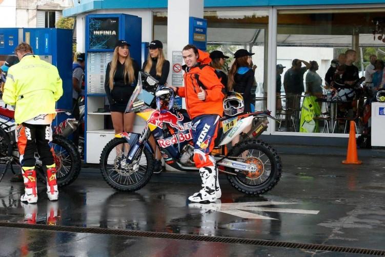Matthias Walkner KTM Rally
