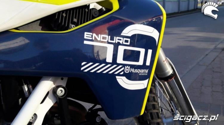 Husqvarna 701 Enduro logo