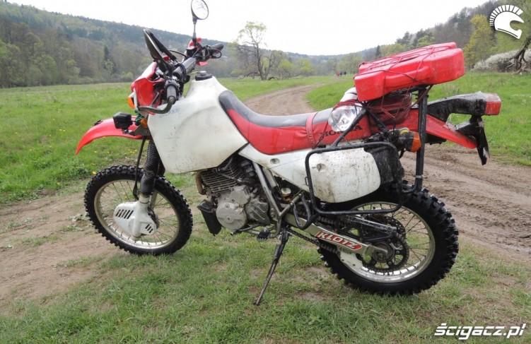 Honda XR650 L statycznie