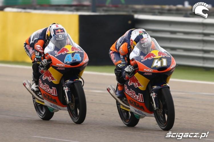 Brad Binder Miguel Oliveira KTM RC250 GP