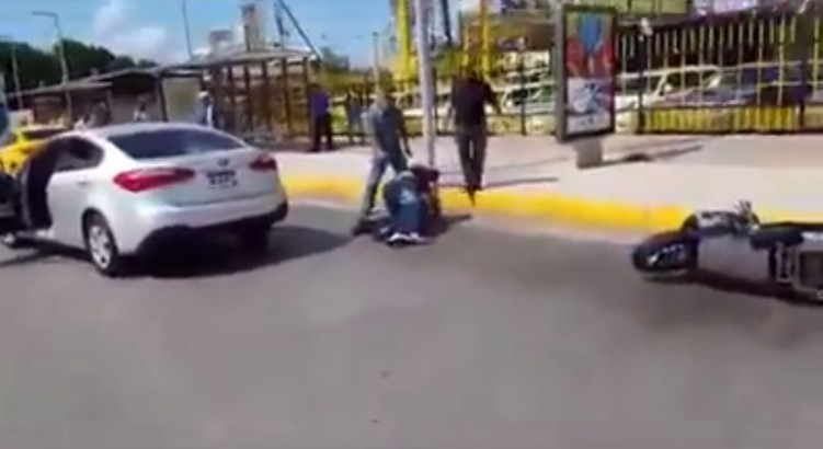 kierowca sktera vs kierowca auta