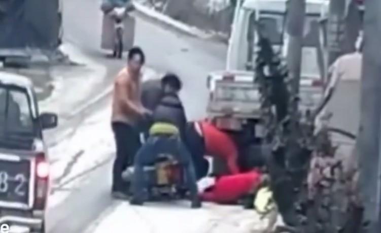 wypadek motocyklowy