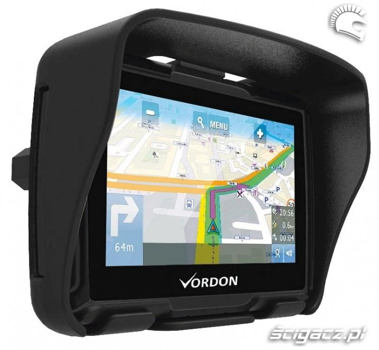 Nawigacja motocyklowa VORDON M 435