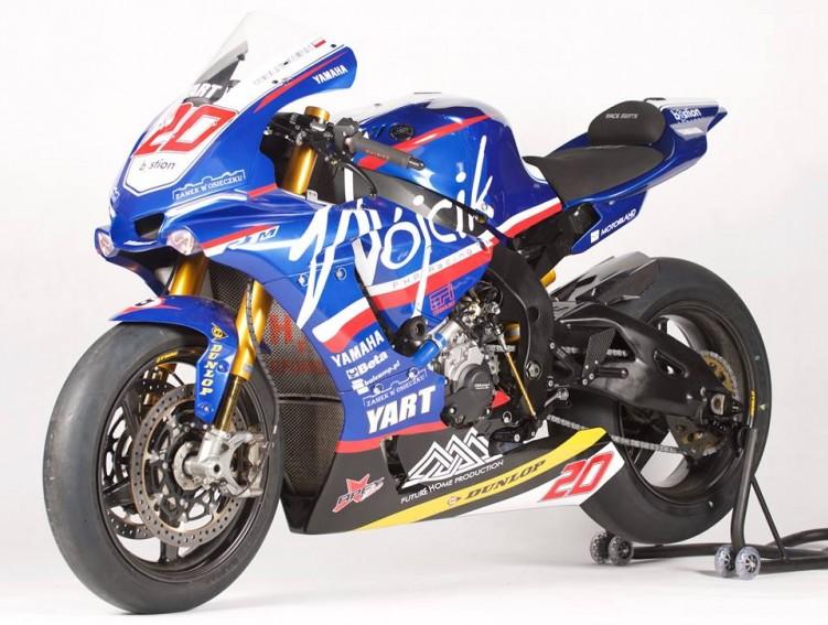 Yamaha R1 M Wojcik Team