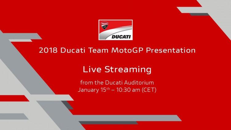 Prezentacja teamu Ducati MotoGP
