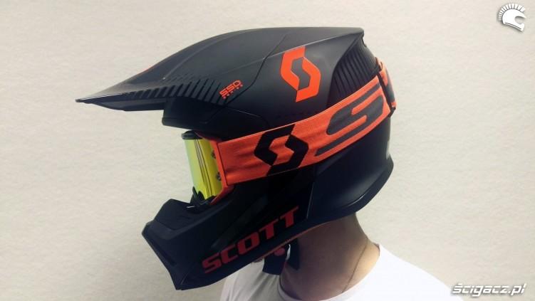 Kask Scott 550 Hatch nie tylko do motocrossu