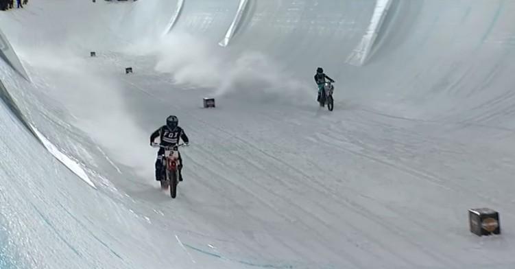 Harley Davidson Snow Hill Climb