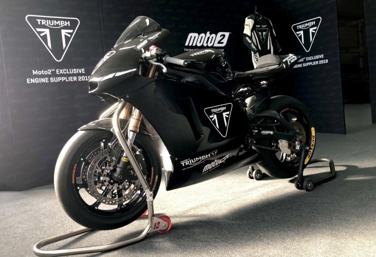 Moto2 Triumph testing 2019 08