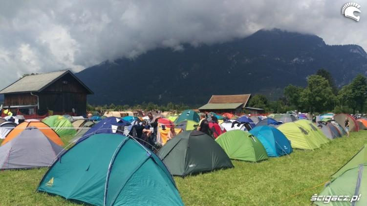 namioty w garmisch