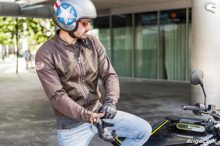 przewiewna motocyklowa segura