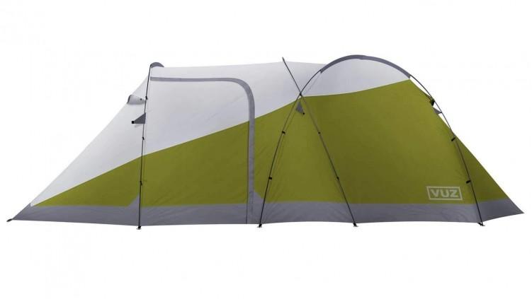 Vuz - namiot i garaż motocyklowy w jednym