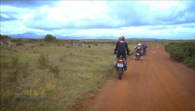 Zebry Motocykle Afryka Motul Tour