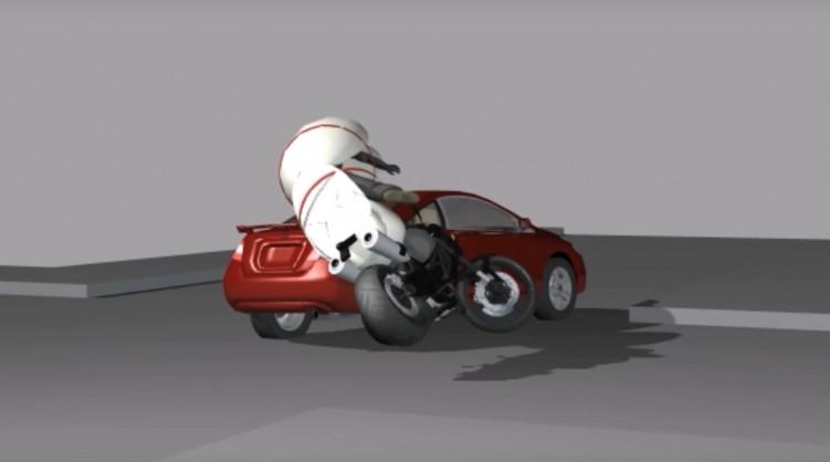 Motocyklowa poduszka powietrzna