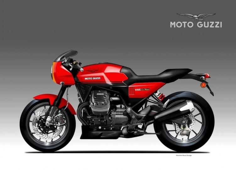 Moto Guzzi V 85 Le Mans