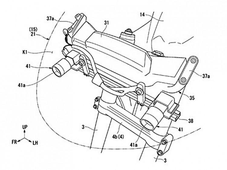 GoldWing patent kamery 2