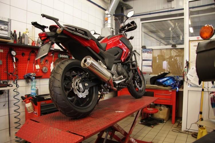 2 serwis motocykla