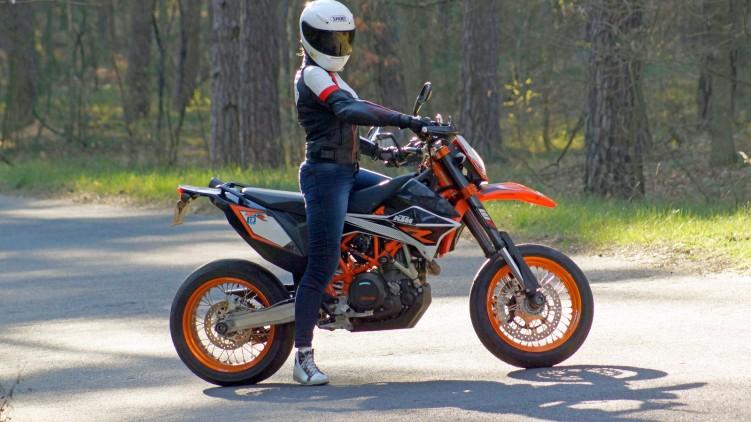 Damskie jeansy motocyklowe City Nomad Kim 4