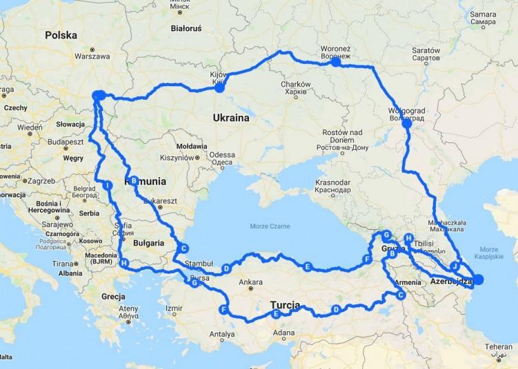 Motocyklem do Azerbejdzanu 2019 03