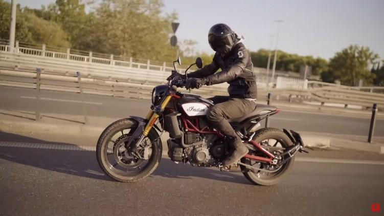Indian FTR 1200 S ulica