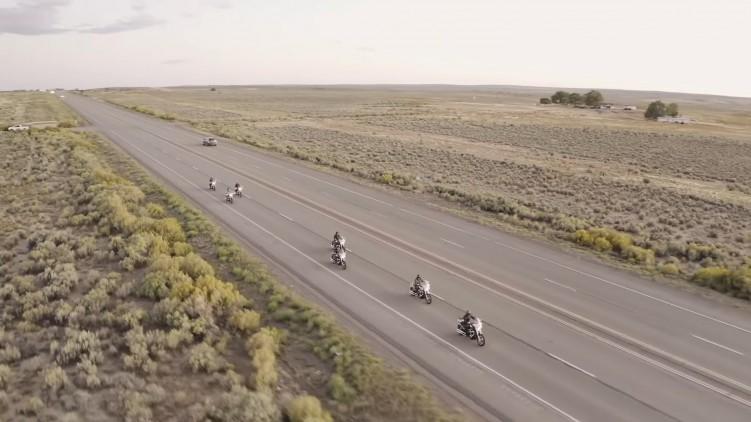 Motocyklem przez USA