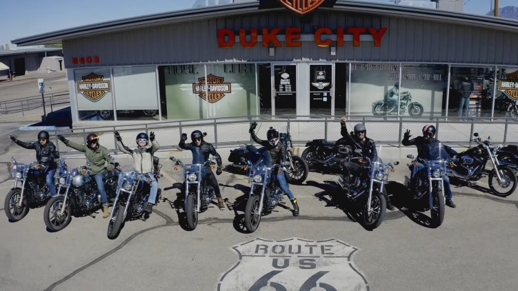 Motul Ameryka Tour Harleye