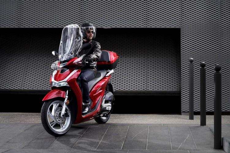 Honda SH125i 2020 jazda