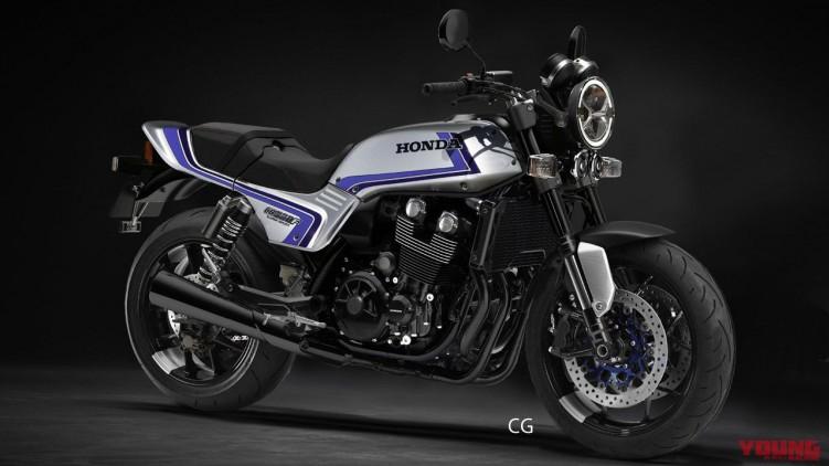 honda cb900f concept