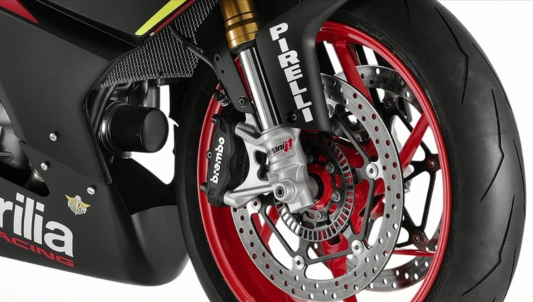 Aprilia RS660 Trofeo zawieszenie przod