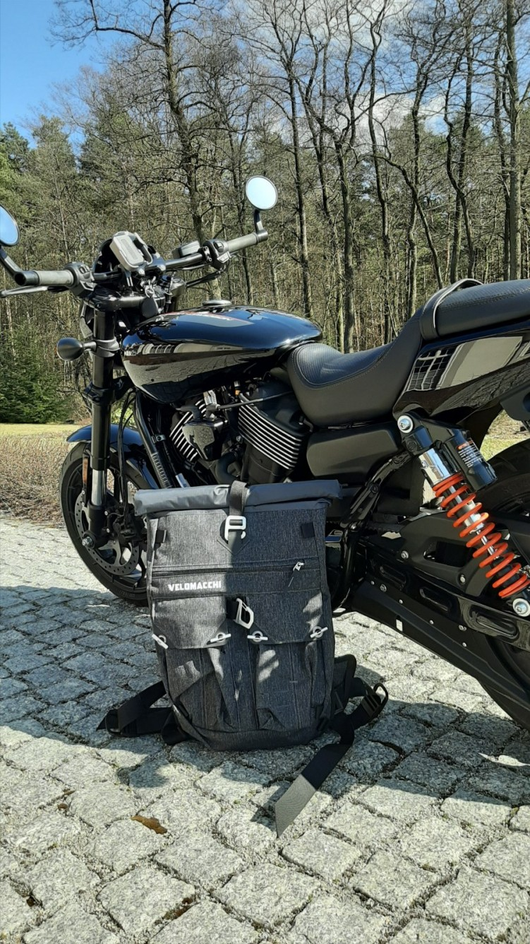 03 Velomacchi Speedway Backpack 28L plecak motocyklowy