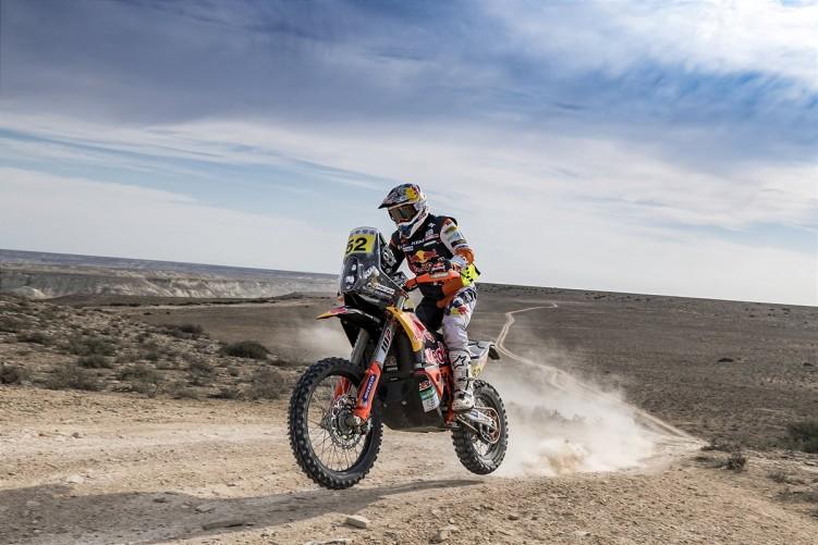 Matthias Walkner Red Bull KTM Factory Racing 2021 Rally Kazakhstan