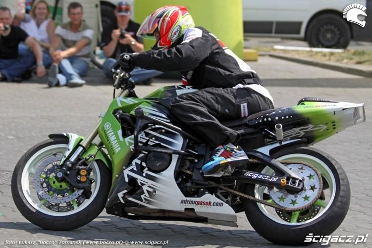 Pasio driftuje Motocyklowa Niedziela na BP