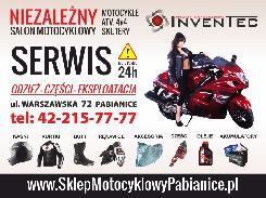 2fd6737674db1 Sklep i serwis motocyklowy INVENTEC Pabianice
