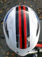 Tyl gora Kask LS2 FF323 Arrow R