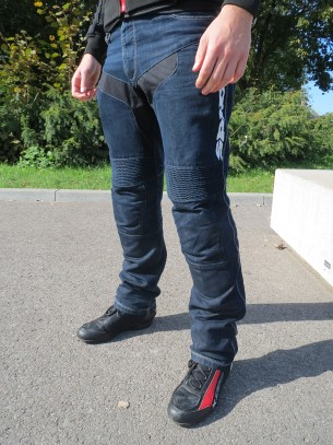 spidi furious denim jeans nogawka