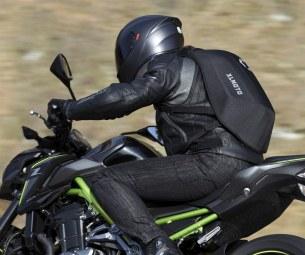 XL Moto Slipstream plecak motocyklowy akcja