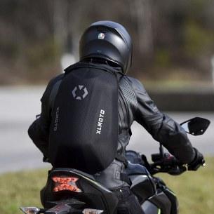 XL Moto Slipstream plecak motocyklowy tylem