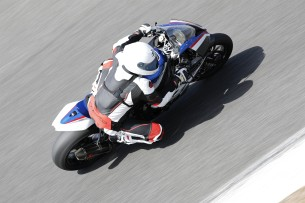 test bmw hp4 barry