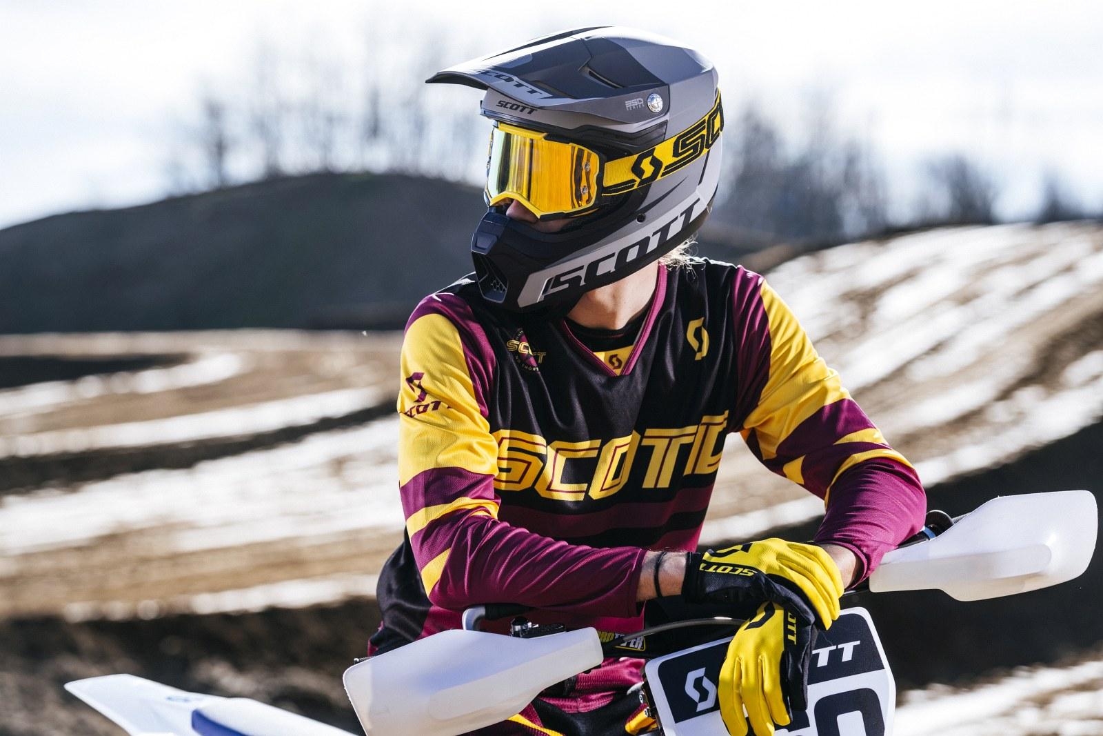 Gogle motocyklowe Scott Fury 1