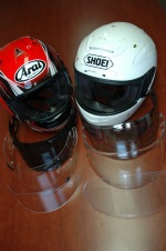 Shoei X-Spirit II Arai RX7GP