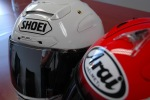 Shoei XSpirit II Arai RX7GP loga