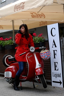 Cafe Legend Vespa