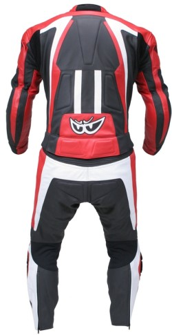 BERIK LS2 5904 BK RED BLACK WHITE BACK